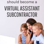 why you should become a va subcontractor